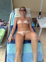 Picture wife nude outdoor sunbathing