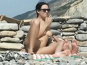 Hot Nudist Wife Caught Fucking on Beach