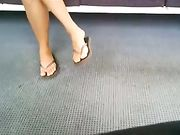 Candid Camera in Bus Sexy Legs Filmed