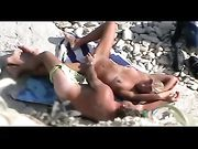 Nudists Filmed Voyeur on Private Beach