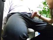 Spycam Office Sex Secretary Blowing Boss Cock Under Desk